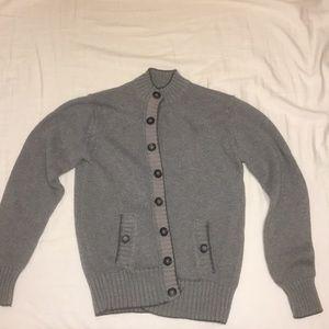 grey stella mccartney cardigan